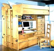 bed and desk combo bunk bed desk combo view in gallery amazing loft bunk bed with an