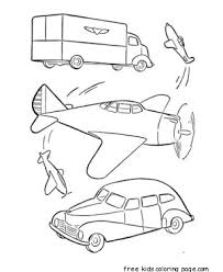 airplane coloring page printable military car and airplane free printable coloring pages for kids