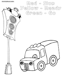 traffic light coloring pages coloring pages to download and print