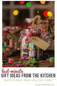 gifts from the kitchen ideas last minute diy gift ideas from the kitchen nelliebellie