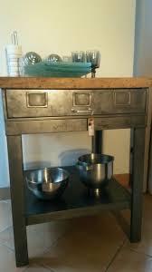 meuble cuisine inox meuble cuisine inox meilleur de lot de cuisine ancien établi