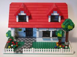 Lego House Floor Plan Lego House This House Was Modified From 4886 Building Bona U2026 Flickr