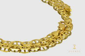 solid yellow gold necklace images 10k gucci mariner style solid yellow gold necklace jpg