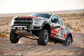 ford prerunner truck sema 2016 stock ford raptor ready for baja 1000 automobile magazine