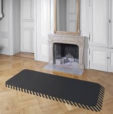 Wood Stove Rugs Make It Pop Suite Of 3d Illusion Rugs Really Stands Out