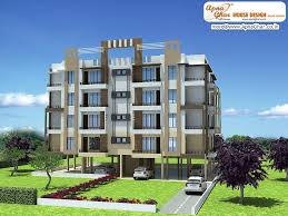 Outside Home Design Online by Interior Design For 1bhk Flat Modern Apartment Exterior Images