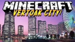 Minecraft City Maps ᐅ Vertoak City Map For Minecraft 1 11 1 1 11 1 10