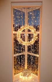 indoor christmas window lights using christmas window lights for festive home displays window