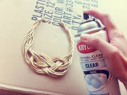 How Many Coats Of Spray Paint On Metal - use clear krylon gloss to coat costume jewelry to prevent