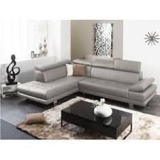 linea canapé linea sofa canapé d angle cuir luxe italien effleurement gris