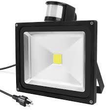 Halloween Flood Lights by Warmoon 50w Outdoor Led Security Flood Motion Sensor Light For
