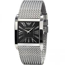 armani bracelet ladies images Emporio armani ar2013 ladies super slim silver mesh watch jpg