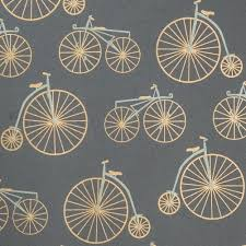 bicycle wrapping paper gray gift wrap bicycle wrapping paper