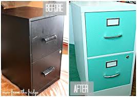 Chalk Paint On Metal Filing Cabinet File Cabinet Redo Tshirtabout Me