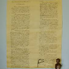 emancipation proclamation size reproduction national
