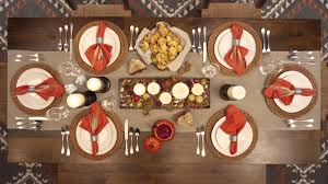 thanksgiving place setting thanksgiving table setting just like that youtube