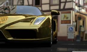 ferrari gold ferrari enzo gold 4k hd desktop wallpaper for 4k ultra hd tv