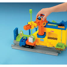 Fisher Price Toy Box Price Geotrax Lift U0026 Load Construction Company Damaged Box