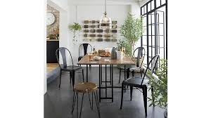 dining table crate and barrel dining room table pythonet home