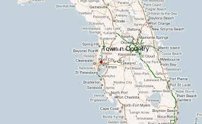 florida towns map town n country location guide