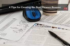 Best Finance Resume by 4 Tips For Creating The Best Finance Resume Vincentbenjamin