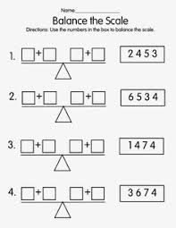balanced equations math pinterest equation grade 2 maths