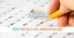 test para identificar el estilo de aprendizaje apoyo primaria