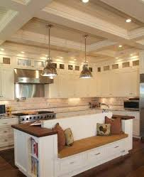 Kitchen Island With Built In Seating Kitchen Kitchenand With Built In Bench Seating Nook Plans Corner