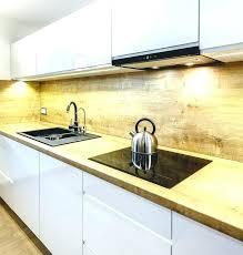 plan travail cuisine bois cuisine noir plan de travail bois plan travail cuisine bois plan de