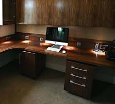 Walnut Home Office Desk Walnut Office Desks Walnut Pedestal Hardwood Computer Desk