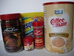 Coffee Mix sugar free cappuccino mix southern plate