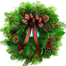 fresh wreaths christmas winter wreath fresh christmas and rosehip wreath