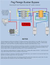 modified power wheels peg busbar bypass diagram