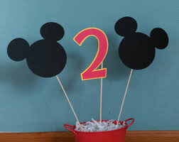 mickey centerpiece etsy