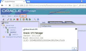 ovm console how to upgrade oracle vm manager unixarena