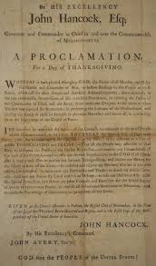 proclamation thanksgiving day 1780 massachusetts wallbuilders