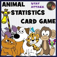 animal statistics printable card by suzeyuill teaching
