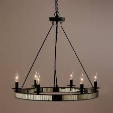 Mercury Glass Home Decor Spectacular Mercury Glass Chandelier On Home Decoration Ideas With