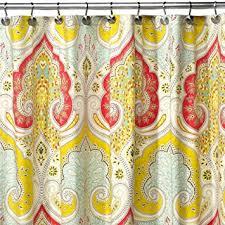 Saffron Curtains Ds Bath Medina Saffron Shower Curtain Mildew Resistant