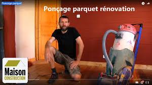Location Monobrosse Castorama by Poncage Parquet Youtube