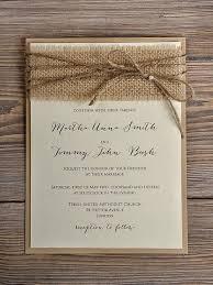 best 25 burlap wedding invitations ideas on rustic