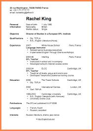Sample Resume Job Application by Sample Resume Format For Job Application