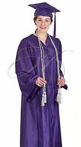 homeschool graduation cap and gown purple traditional cap gown set for high school graduation
