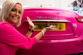owns maserati this owns the pink maserati in the uk and it was