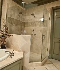 Bathtub Planter Luxurious Shower Room With Simple Shower And Glass Curtain Side
