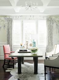 one kings lane table inside rachel roy s impeccably elegant home office