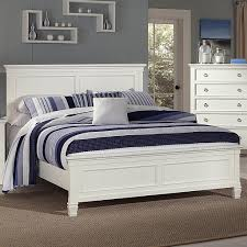 tamarack california king panel headboard and footboard bed by new