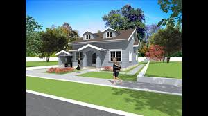 bungalow house plan and design american style house with siding