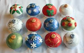 how to make ornament cupcakes