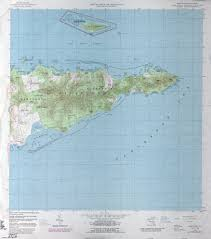 Map Of The Virgin Islands U S Virgin Islands Topographic Maps Perry Castañeda Map